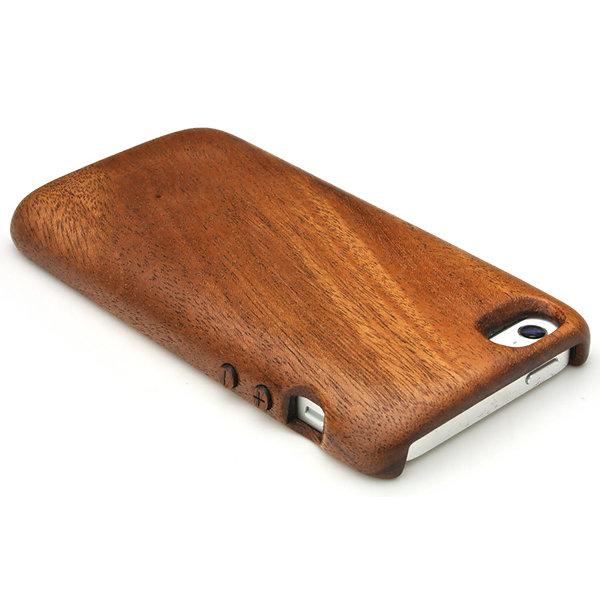 [送料無料!]iPhone SE 専用木製ケース(丸みのあるフォルムの3Gスタイルの木製ケース)[納期:3~5週間(受注生産品)]