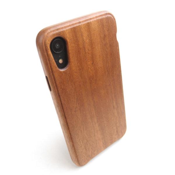 [送料無料!]木製ケースiPhone XR専用木製ケース[納期:3~5週間(受注生産品)]