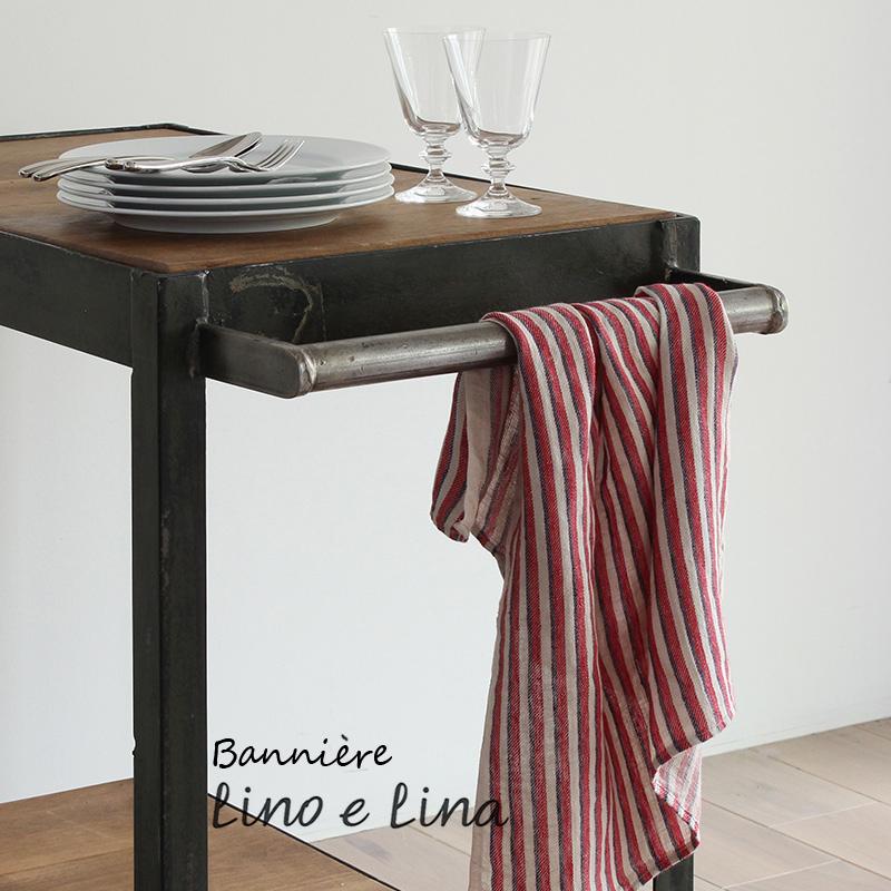 Lithuania linen Tea towel Lino e Lina linoerina