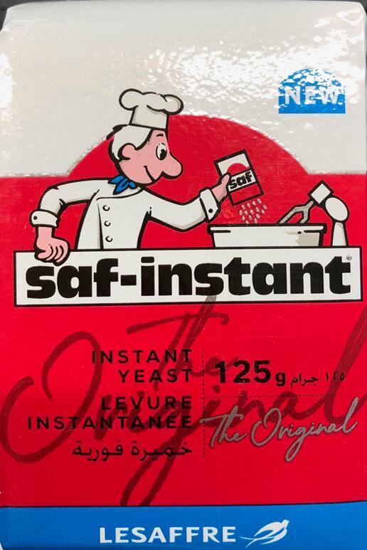 ホームベーカリーでのパン作りにおすすめ 3 780円 税込 以上送料無料 豊富な品 赤 125g インスタントドライイースト saf-instant 超激安特価 サフ