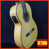エレガット・フラメンコギター プリアンプ搭載フラメンコギター スペイン製Manuel Fernandez