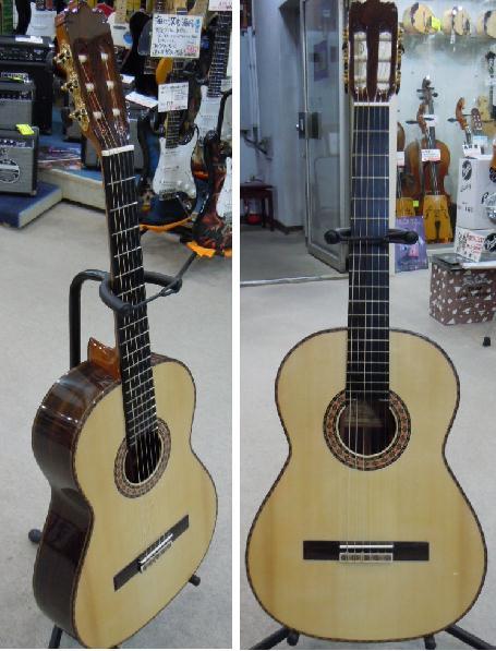 Manuel Fernandez クラシックギター スペイン製