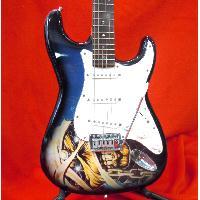 エレキギター 戦士