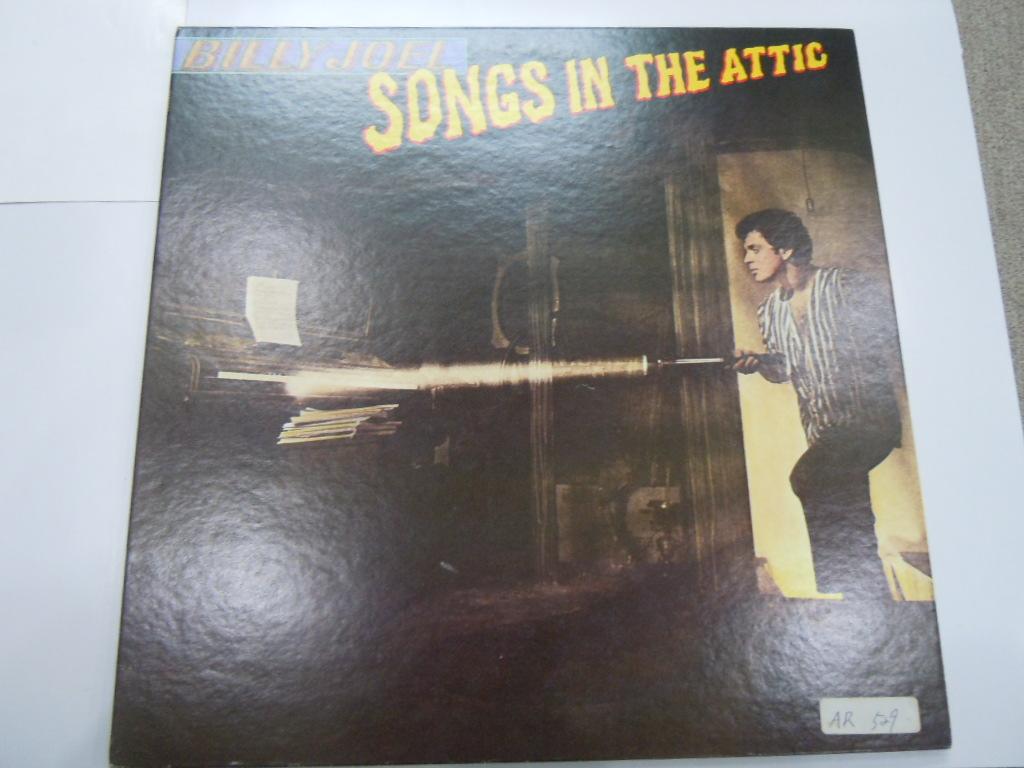 レコードLP BILLY JOEL SONGS IN THE ATTIC 【ビリージョエル【中古】