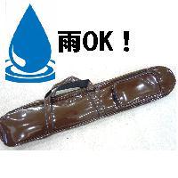 二胡ケース エナメル・デラックスソフトケース ブラウン色