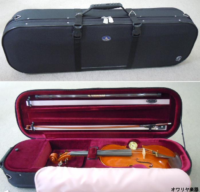 黑色小提琴案例 artonus 夸脱