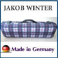 バイオリンケース JAKOB WINTER【日本正規品】 ドイツ製 チェック柄 4/4サイズ用 角型リュック可
