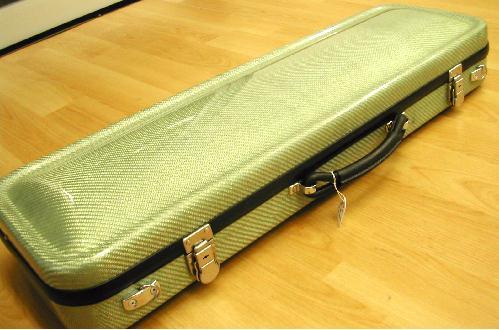 カーボン ヴァイオリンハードケース 4/4サイズ パステルグリーン