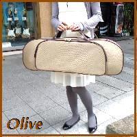 ナチュかわ♪バイオリンケース4/4サイズ Olive/オリーブ