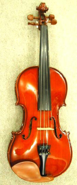 子供バイオリンSanremo VL-1a 1/16サイズ  ケース・弓・松脂4点セット