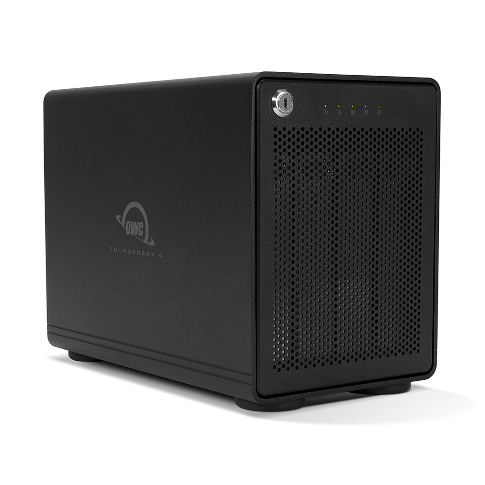 【国内正規品】OWC ThunderBay 4 Thunderbolt 3 RAIDソリューション 56.0TB 7200RPM 512MB (4 x 12.0TB) RAID 5対応版