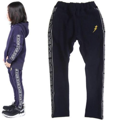 highking ハイキング(120cm)uniform パンツ (メール便OK)(2019秋冬)裏起毛スウェットパンツ 子供服