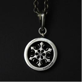 (クリスマスアクセサリー)(オーダー品)(FUNKOUTS/cooldust) 雪の結晶ペンダント /symbolic snow(蝶々/バタフライ/ちょう/アクセサリー)