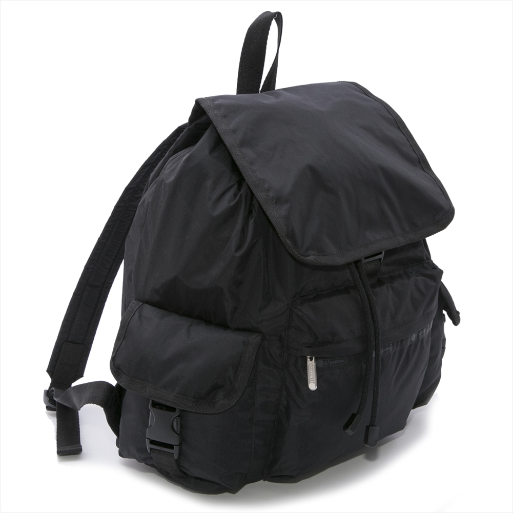 【40%OFF】 レスポートサック リュック VOYAGER BACKPACK ボイジャーバックパック 7839 5982 BLACK SOLID レディース LeSportsac 【新品・送料無料】