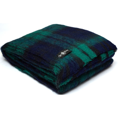 Cape Mohair ケープモヘヤTravel Rug Black Watch TRA2007