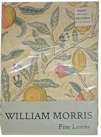 モリスデザインオックスフォードタイム テーブルクロス(正方形)Fruits TBCH90SQ(縦132cm × 横132cm)