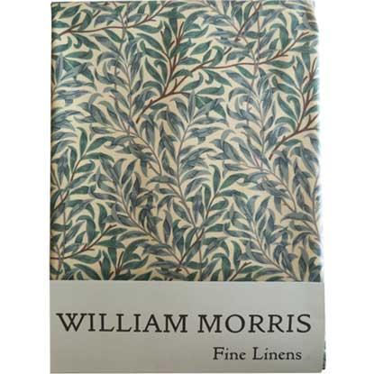 モリスデザインオックスフォードタイム テーブルクロス(長方形)Green Willow TBCH91R(縦132cm × 横178cm)