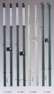 【送料無料】ダンノ(DANNO)一体型バレー支柱(屋外用)42 D-1604