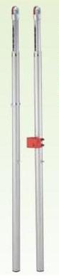 【送料無料】ダンノ (DANNO) バレー支柱 (アルミ・べベルギヤ) SG付 D-1639A
