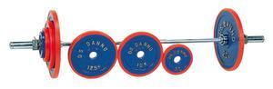 【送料無料】ダンノ (DANNO) A型バーベル (ベアリング回転式) 60kgセット D-643