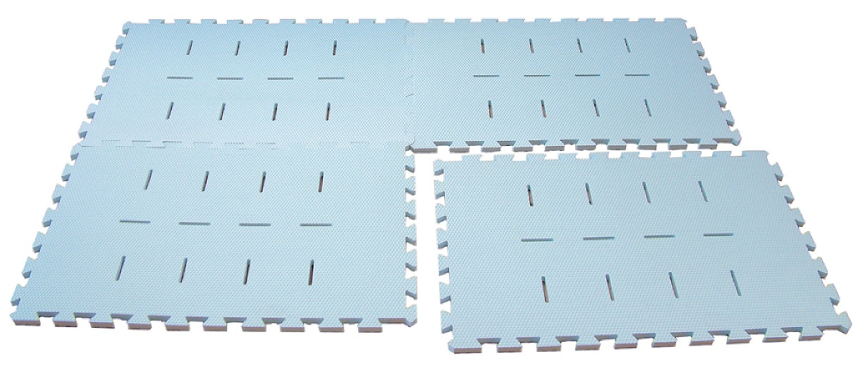 Dunn (DANNO) joint swimming pool mats (set of four) D-3211