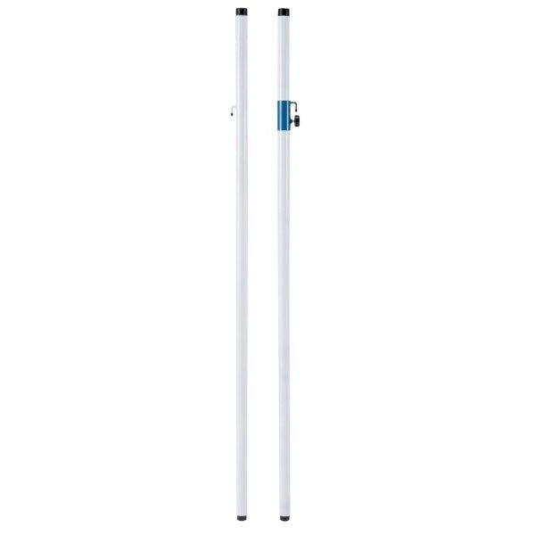 【送料無料】ダンノ (DANNO) バドミントン支柱φ40 1対 D-1660