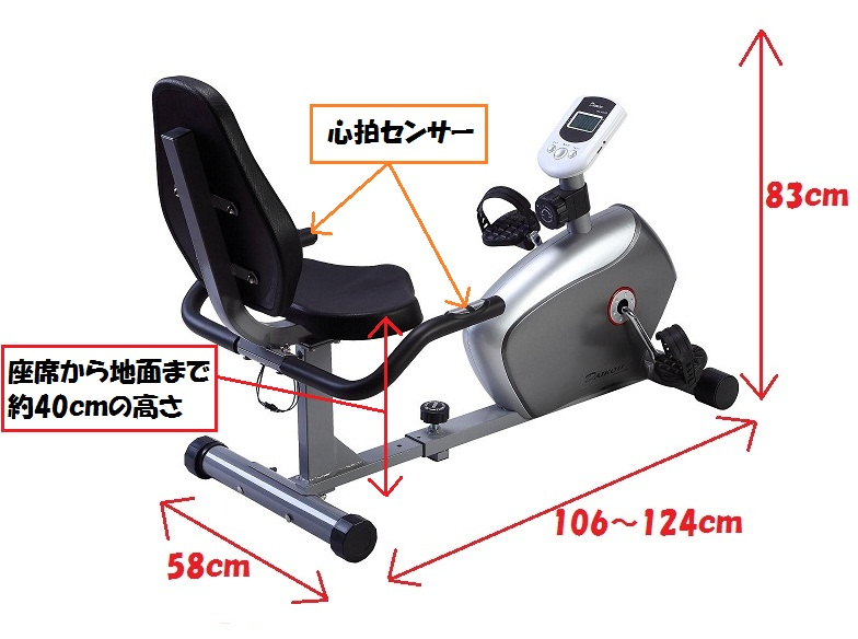 【送料無料】ダイコウ 低床リカンベントバイク DK-8304R