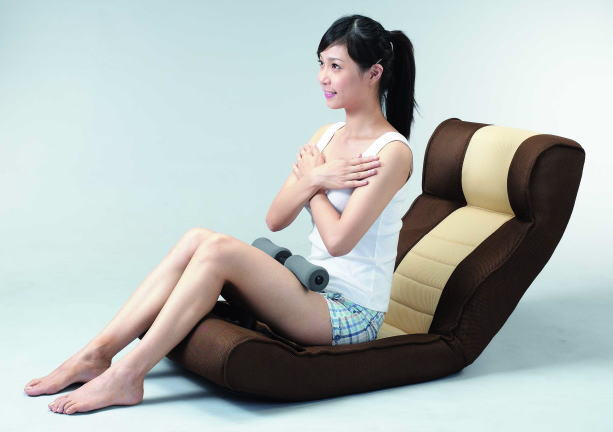 【値下げしました】【送料無料】腹筋らくらく座椅子