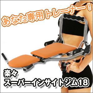 【送料無料】楽々スーパーインサイドジム18 dc113