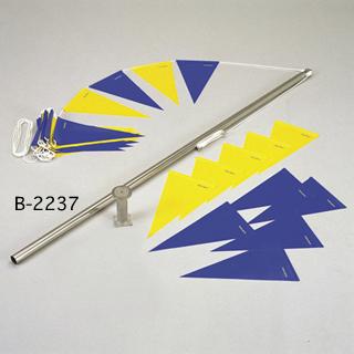 【送料無料】トーエイライト (TOEI LIGHT) 背泳フライング告知兼用ポール B-2237