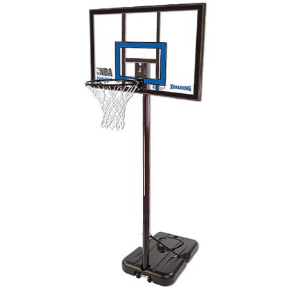 【送料無料】SPALDING (スポルディング) ハイライトポータブル 42インチ スポルディング バスケットゴール アクリルボード 家庭用 ミニバス対応モデル 77455CN