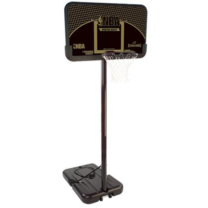 【6月5日出荷可能】【送料無料】SPALDING(スポルディング)ハイライトコンポジット 44インチ ミニバス対応モデル スポルディング バスケットゴール 77685CN