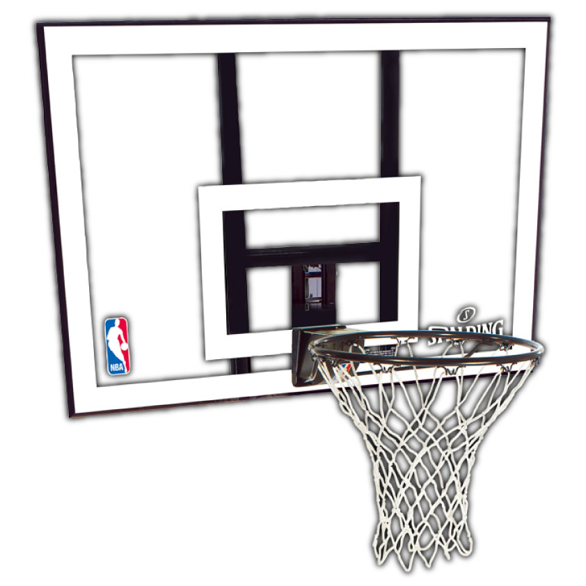 【送料無料】SPALDING (スポルディング) NBA コンボ 44インチ スポルディング バスケットゴール 家庭用 79484CN