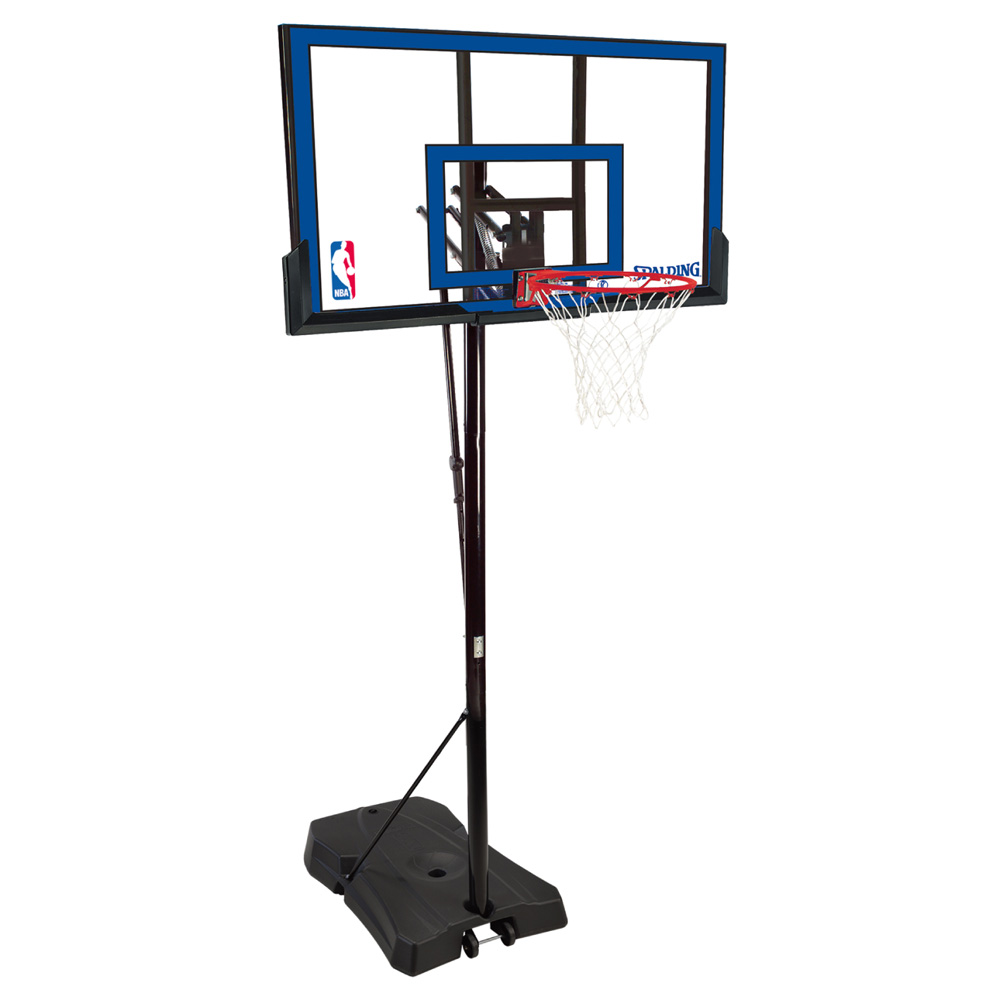 【6月18日出荷可能】【送料無料】 SPALDING (スポルディング) ゲームタイムシリーズ バスケットゴール NBAロゴ 73655CN