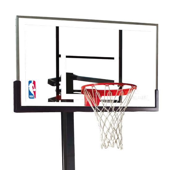【送料無料】SPALDING(スポルディング) プラチナムポータブル バスケットゴール 68490JP