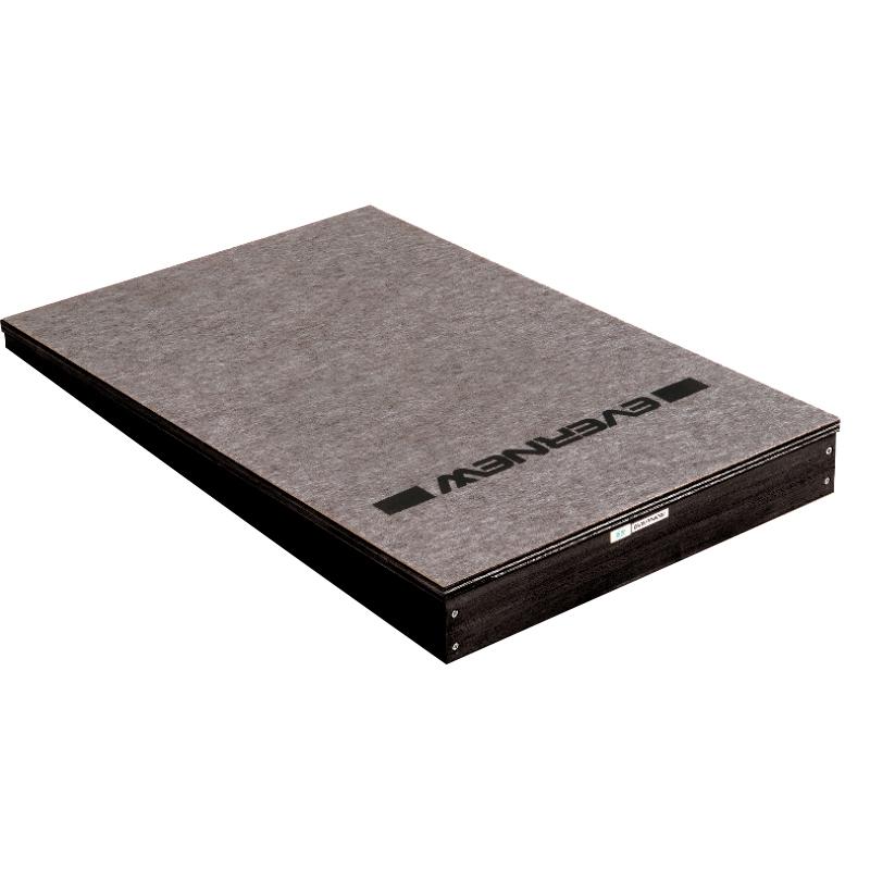 体育館用品 跳び箱 とびばこ ロイター板 店 EKF435 エバニュー ふみきり板90SM EVERNEW 低価格