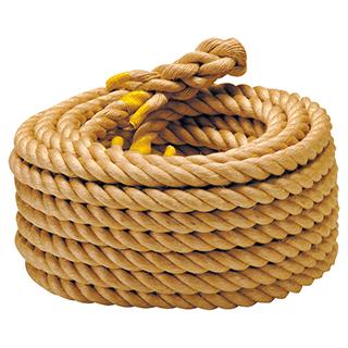 エバニュー(EVERNEW) 綱引きゲーム用ロープ麻30mm EKA419