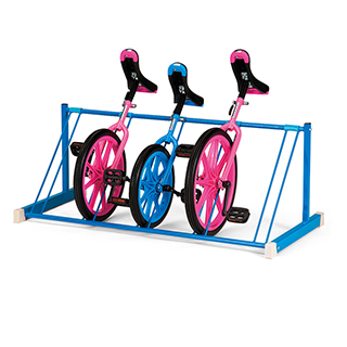 エバニュー(EVERNEW) 一輪車ラック置き式 EKD124