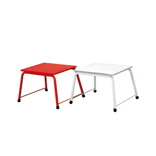 エバニュー(EVERNEW) ポートボール台鉄脚式(紅白) EKE442
