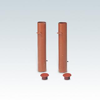 エバニュー(EVERNEW) 支柱用埋筒スチール EKE806