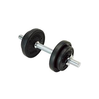エバニュー(EVERNEW) ラバーダンベル10kgセット ETB127