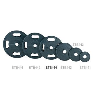 エバニュー(EVERNEW) 50φラバープレート10kg ETB444