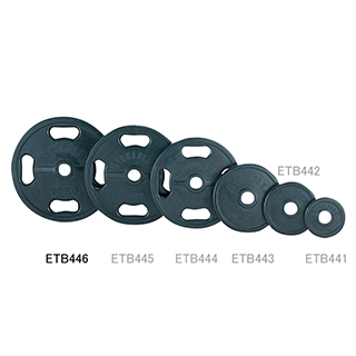 エバニュー(EVERNEW) 50φラバープレート20kg ETB446