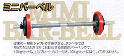 【送料無料】ダンノ(DANNO)ミニバーベル15kgセット