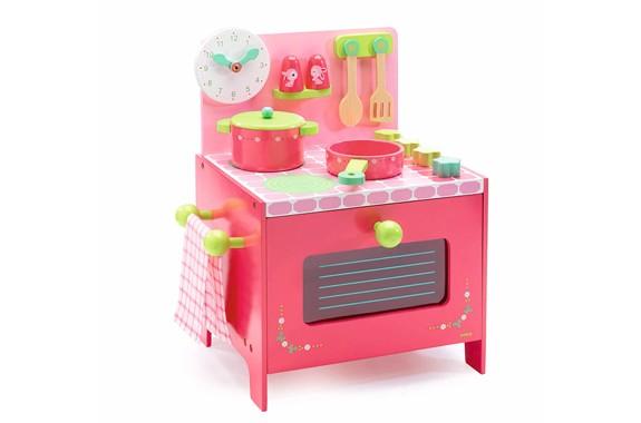 DJECO(ジェコ) 木製玩具 ロールプレイ リリローズ クッカー DJ06508 (4歳~) おままごと