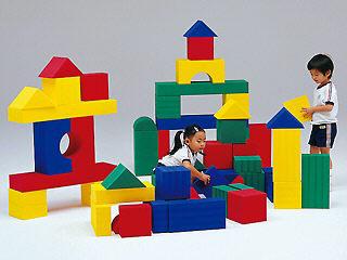 【送料無料】トーエイライト (TOEI LIGHT) ビルディングブロック60(ソフト積み木) T-2397
