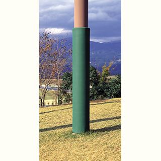 トーエイライト (TOEI LIGHT) 屋外コンクリート柱マット B-2047