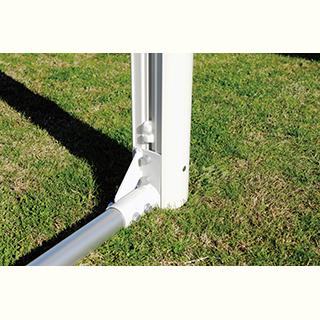 脚趾鰩魚燈(TOEI LIGHT)一般鋁足球球門120 B-2476