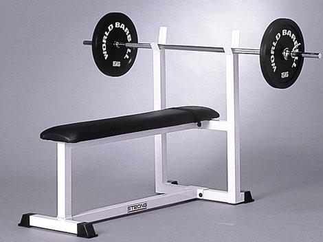マーシャルワールド(MARTIAL WORLD) 【代引不可・送料別途】MACHINE トレーニングベンチ 幅57×高さ93×奥行125cm