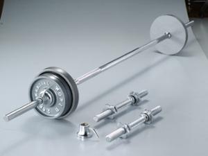 武术世界 (武术世界) 杠铃、 哑铃 アイアンバーベルダンベル 集 35 公斤集